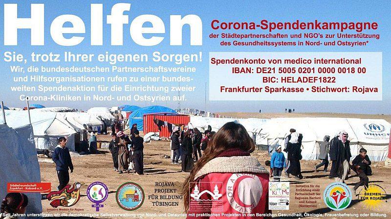 Banner bundesweiter Spendenaufruf